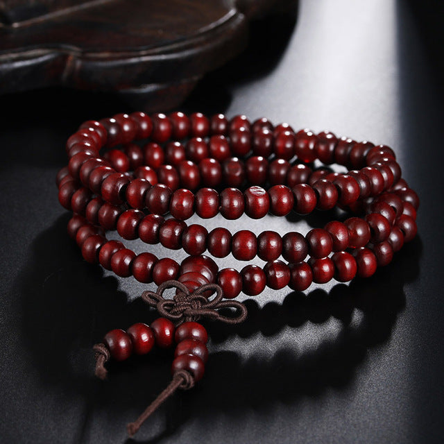 Natural Sandalwood Prayer Beads - Univia
