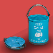 "Collapsible ""Keep Calm"" Bucket"