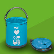 "Collapsible ""We Love our Motorhome"" Bucket"