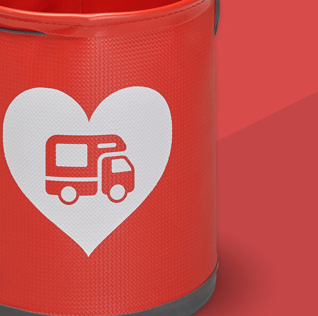 Collapsible Love Motorhoming Bucket