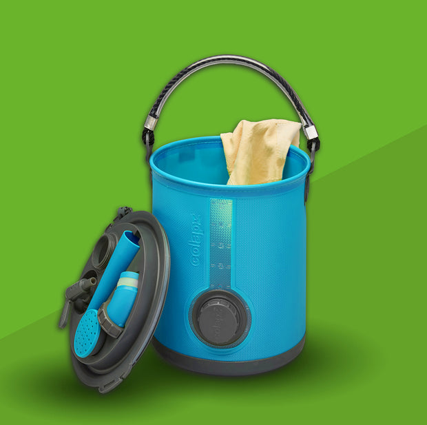 Collapsible 3-in-1 Water Carrier, Bucket & Watering Can (2019 version)