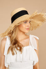 Load image into Gallery viewer, Bite Of Life Beige Wide Brim Hat