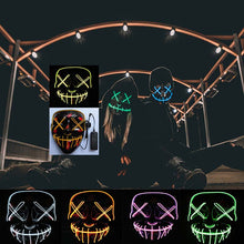 Load image into Gallery viewer, Halloween Mask LED
