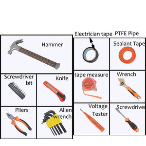 Household DIY Multifunctional Thor Hammer Tool Kit