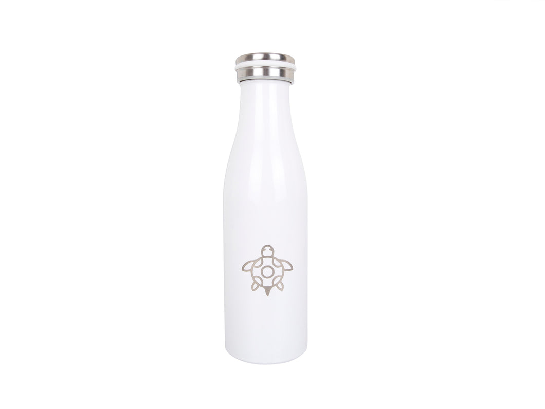 water bottle, white - 500ml