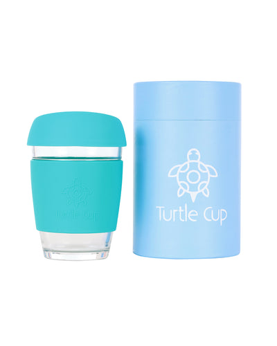 Coffee cup, mint - 12oz