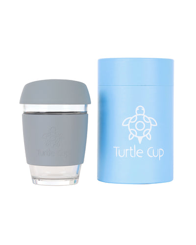 Coffee cup, grey - 12oz