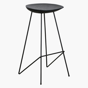 Loft bar stool black