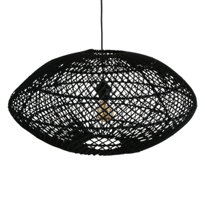 Maze lamp Ellipse black