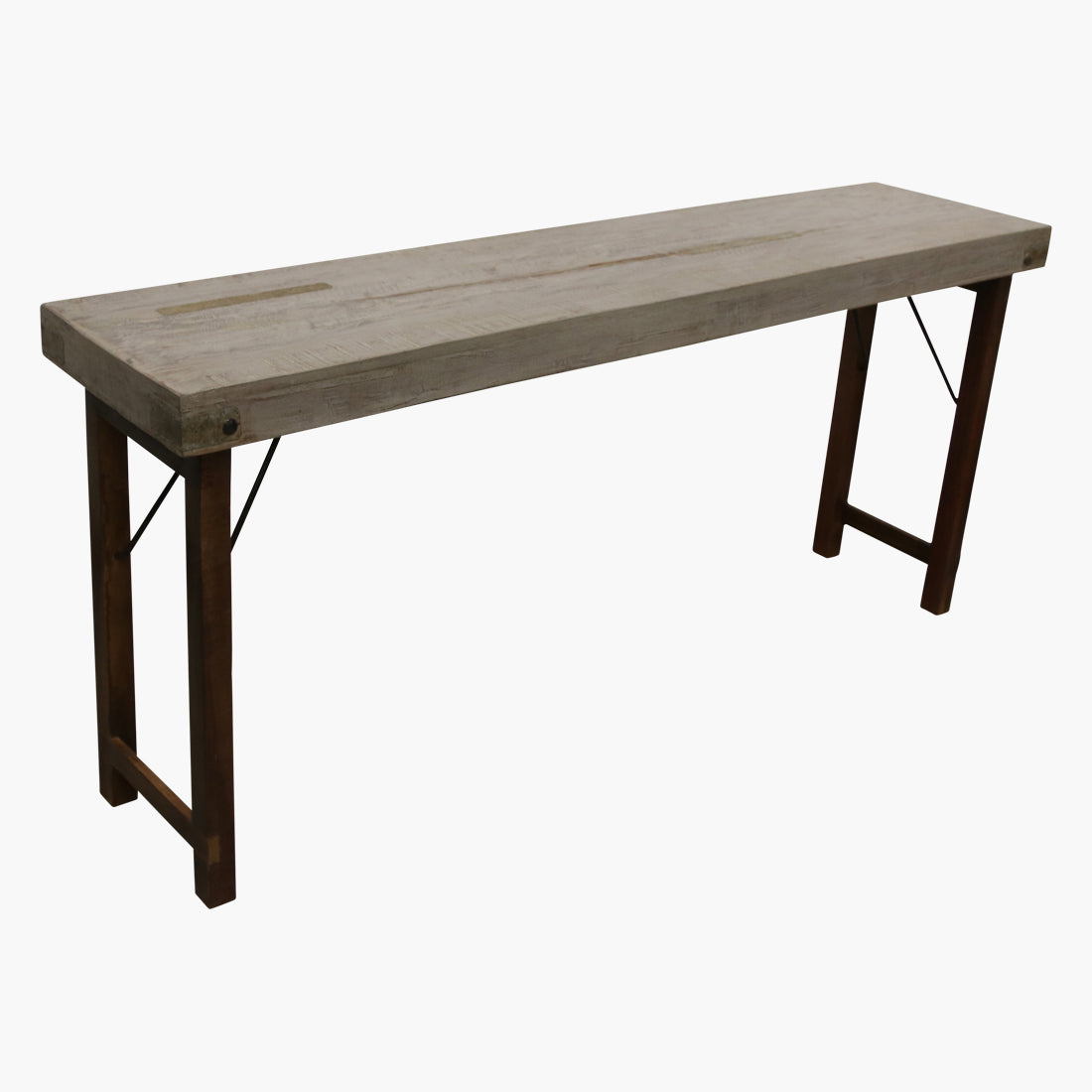 Console table grey