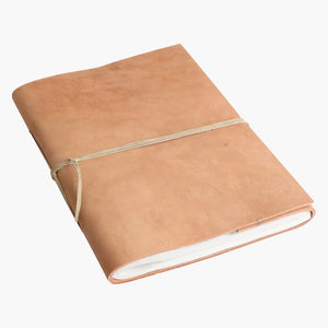 Nat. buffalo leather BM photo album