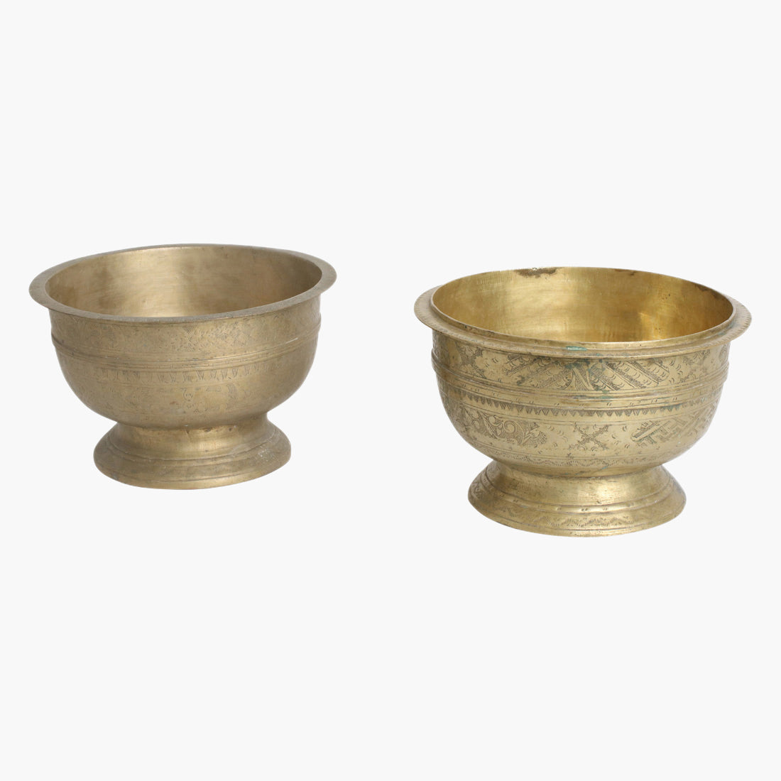 Brass offering bowl