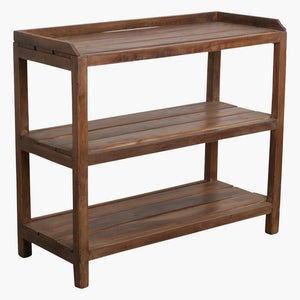 Teak shoe rack + laths