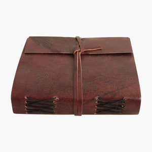 Vora leather travelbook BROWN