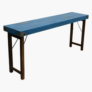 Console table blue