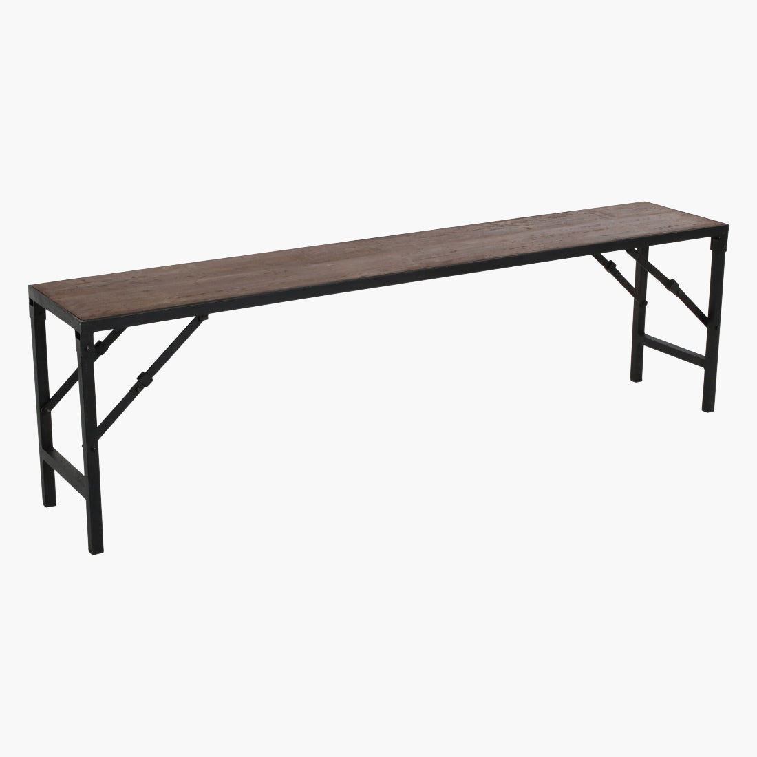 Factory bench folding large 160 cm