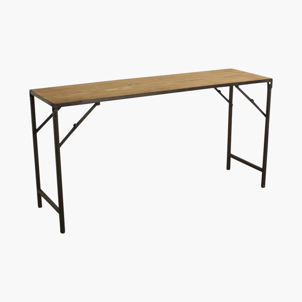 Elements console table folding