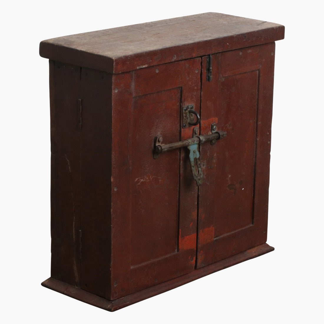Reddish teak 'Victorian' ticket dispensr