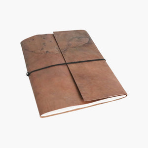 Vora leather BM photo album GREEN