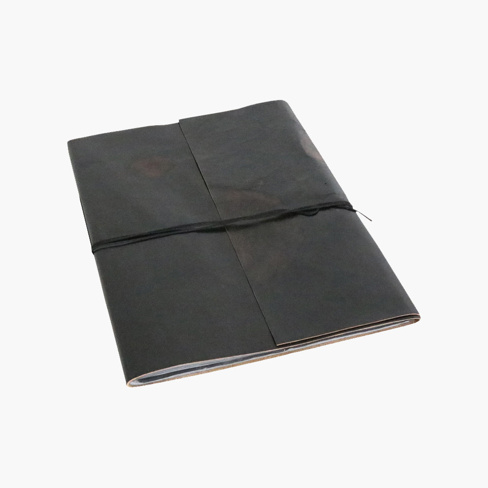 Vora leather BM photo album BLACK