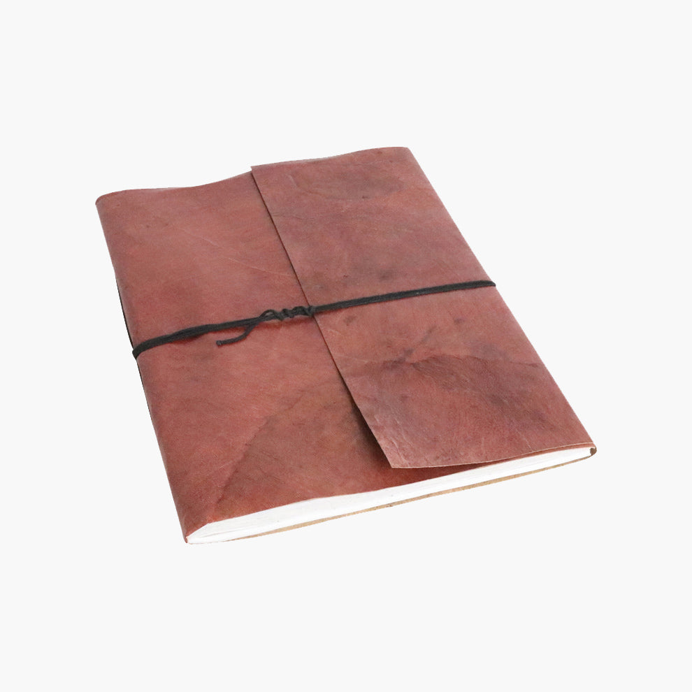 Vora leather BM photo album BROWN