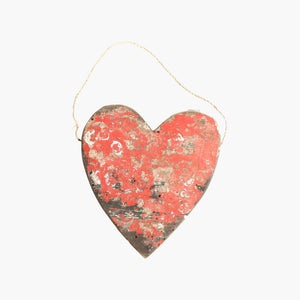 Boatwood figure heart