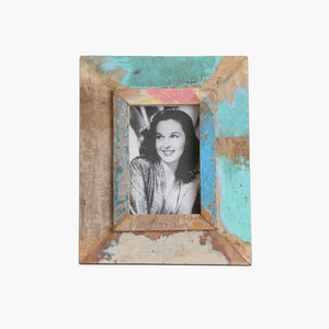 Scrapwood vintage photo frame small