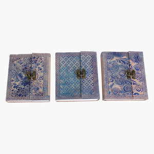 Art print travelbook M BLUE