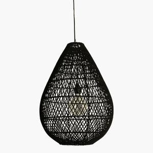 Maze lamp drop black