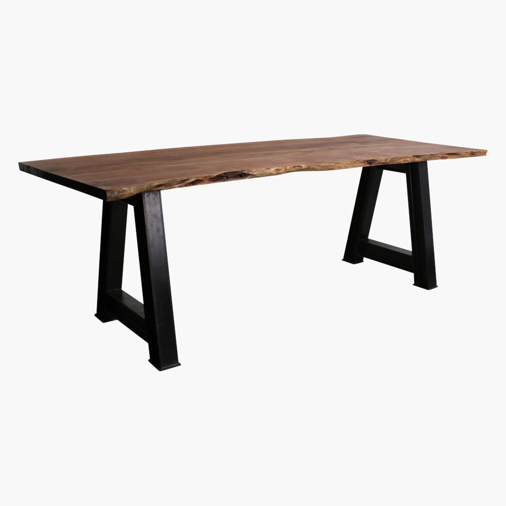 Acaciawood curved table top 200 cm