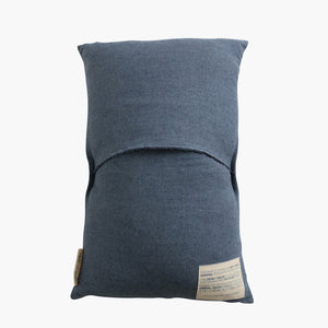 Cushion cover rectangular dark blue