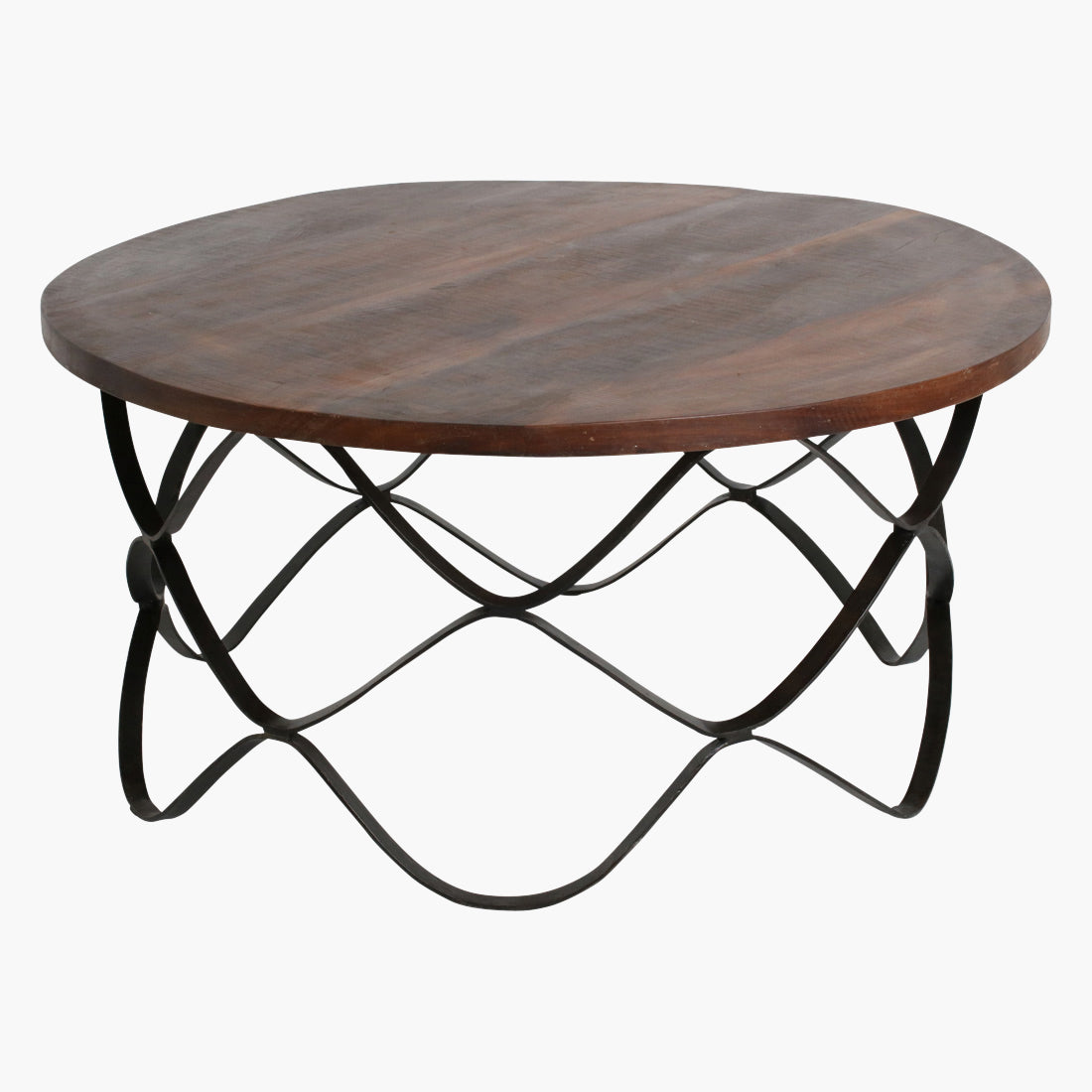 Factory wave coffeetable round large