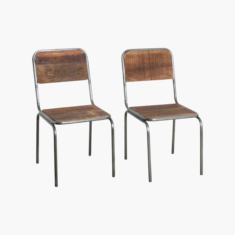 Factory dining chair