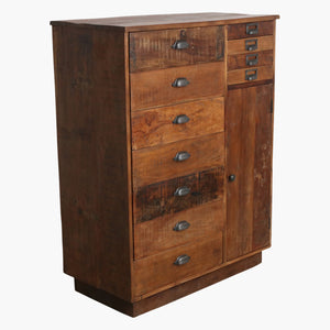 Factory multidrawer sideboard