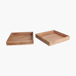 Elements square tray large