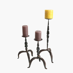 Iron candle stand 52 cm