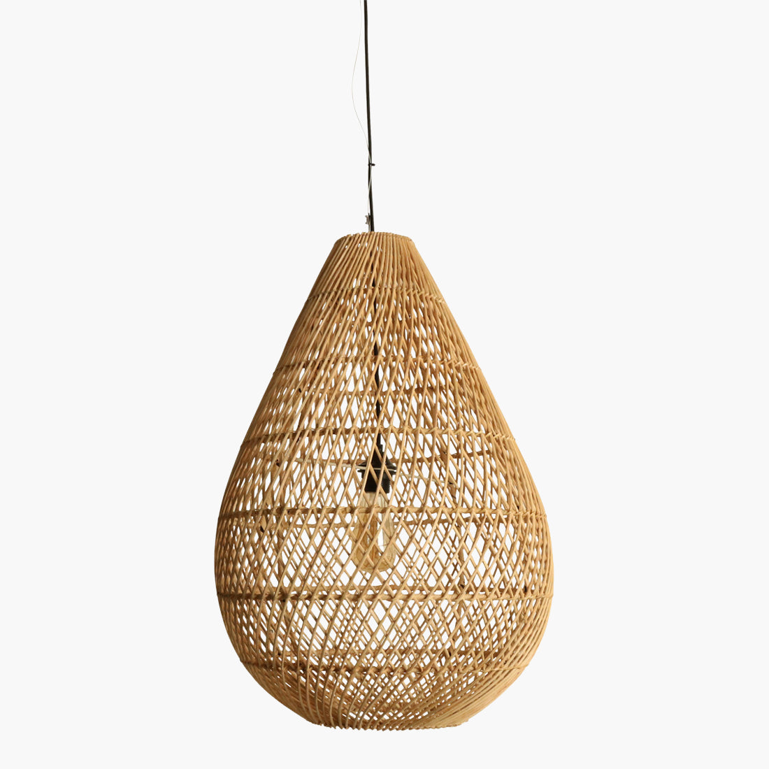 Maze lamp drop natural