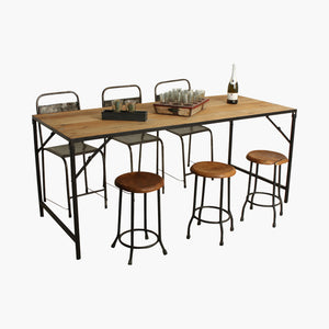 Elements dining table folding 180 cm