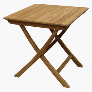 Teak outdoor bistro table