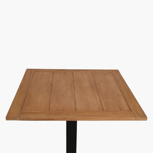 Teak outdoor table top 70x70 cm