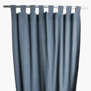 Curtain dark blue