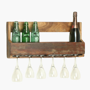 Factory hanging wine rack