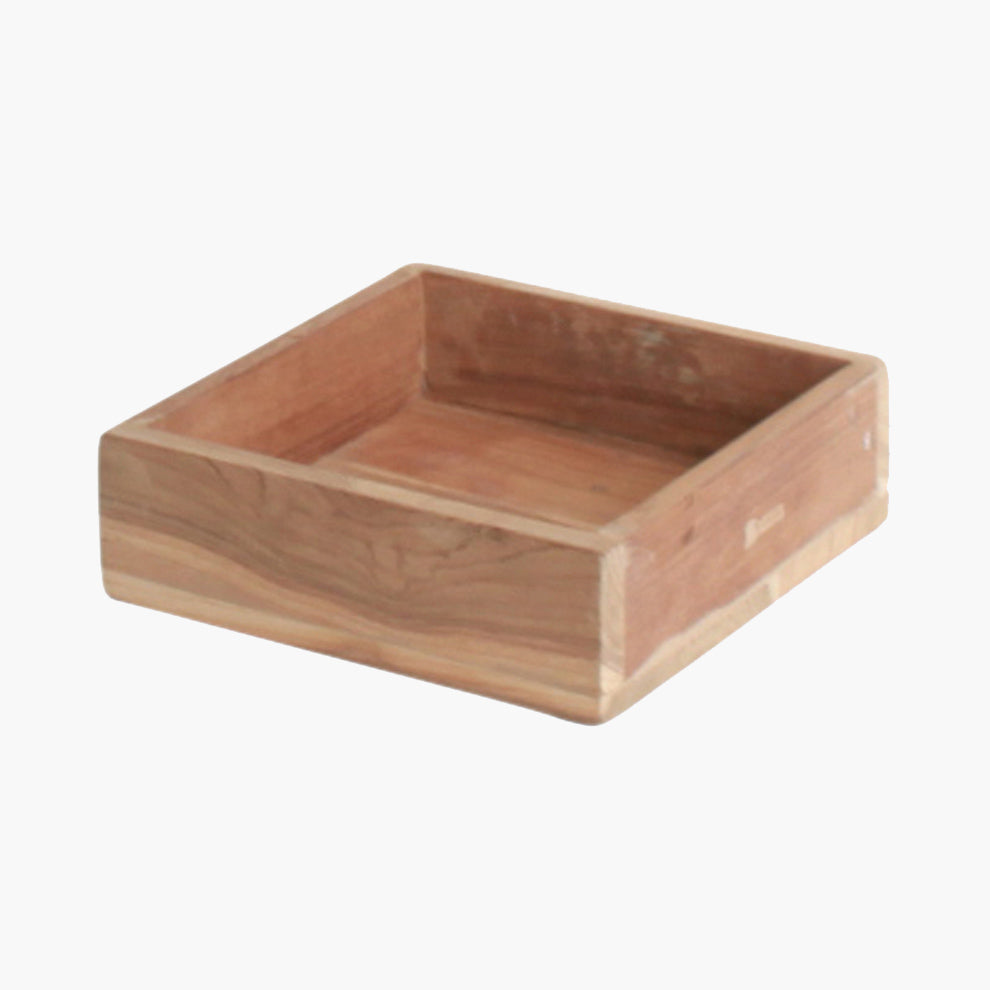Elements square tray small