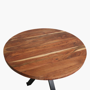 Acaciawood table top dia 120
