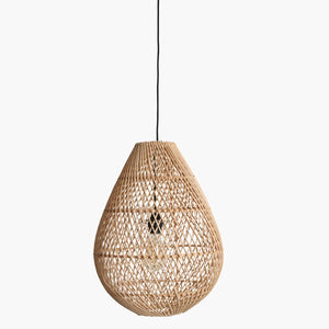 Maze lamp drop natural small
