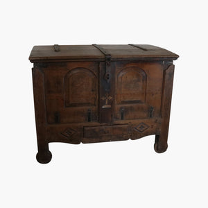 Antique church chest from Goa