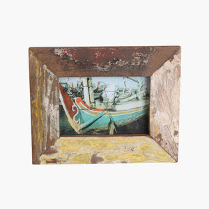 Boatwood photo frame medium (13x18cm)