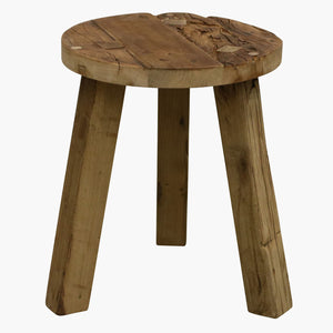 Farmwood coffee table round small