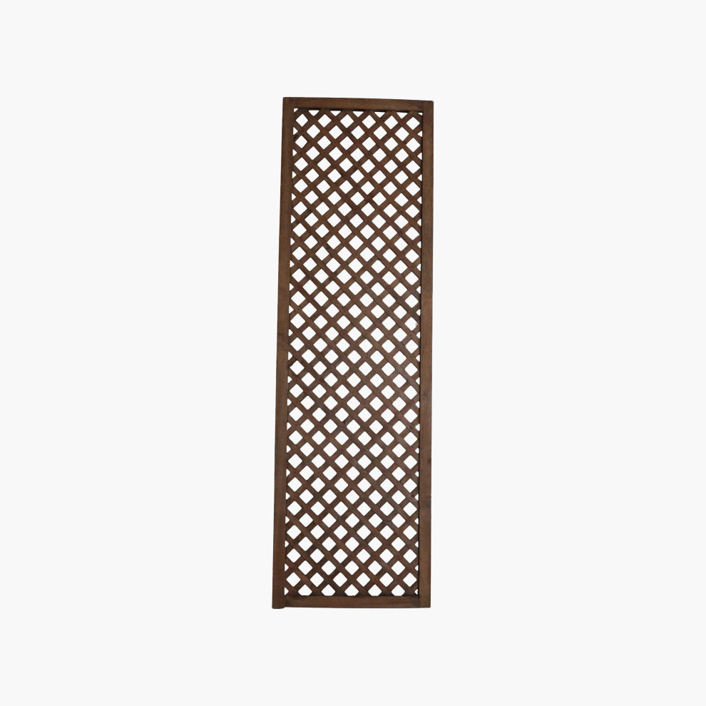 Lattice screen teak 200cm