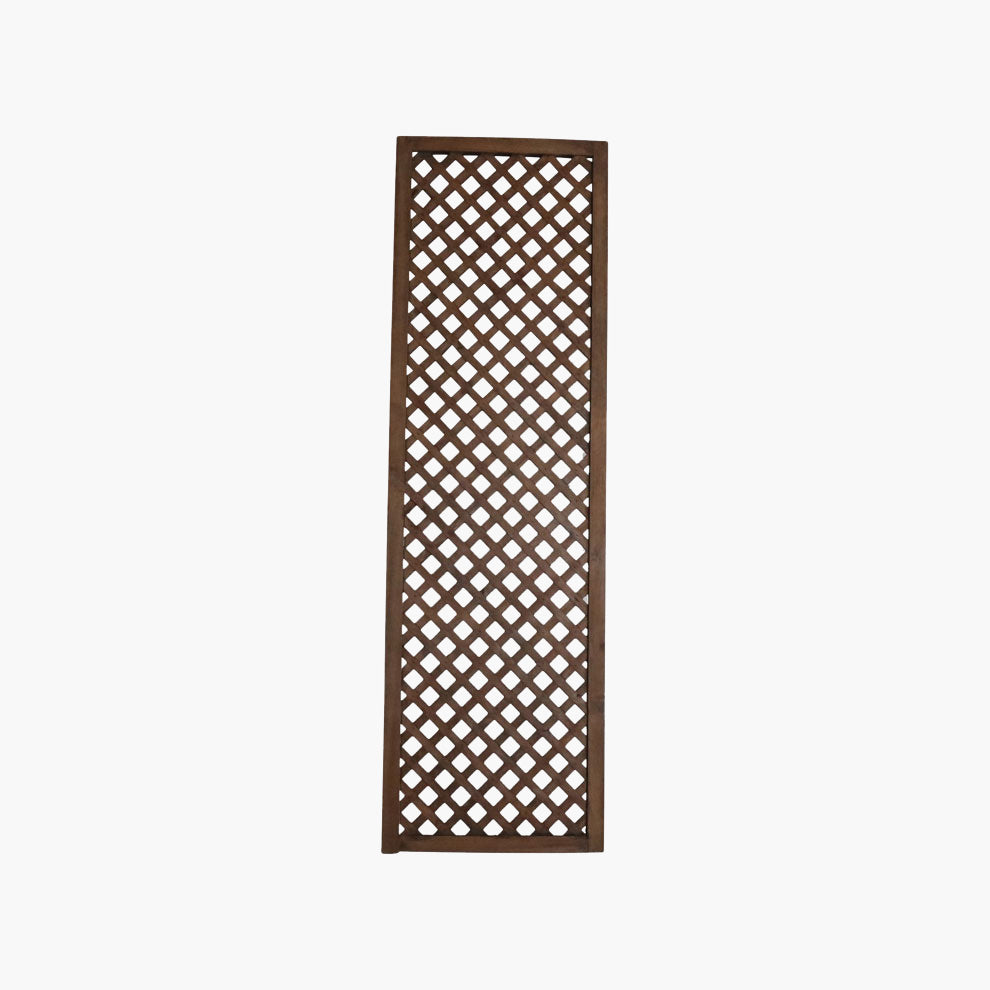 Lattice screen teak 225cm